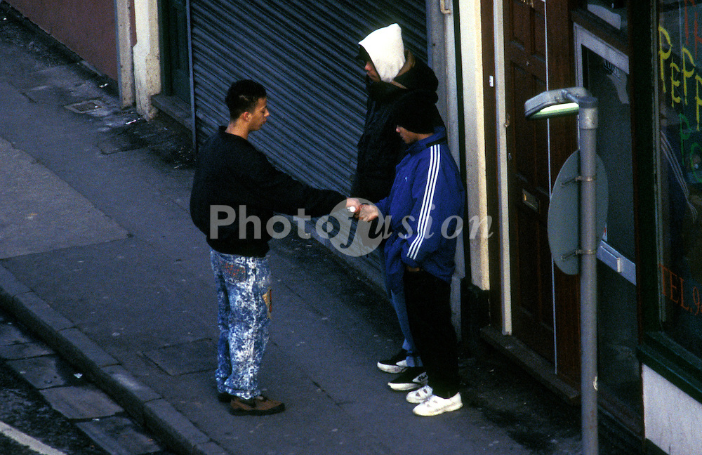 Drug dealing in inner city UK
