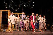 17/05/2012. London, UK.  Featuring a magnificent score played by an orchestra of marimbas and steel pans together with the world-class voices and extraordinary acting talent of the Ensemble. Picture shows: Simphiwe Mayeki, Katlego, Luvo Rasemani and members of the company in La Bohéme.