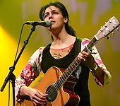 Souad Massi Awards for World Music Brixton Academy London 7th April 2006
