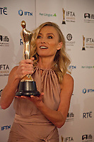 Victoria Smurfit, awarded Best Supporting Actress for The Lears at the IFTA Film & Drama Awards (The Irish Film & Television Academy) at the Mansion House in Dublin, Ireland, Thursday 15th February 2018. Photographer: Doreen Kennedy