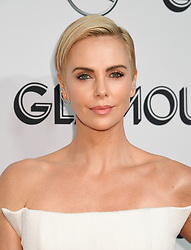 Charlize Theron wearing Christian Dior attends the 2019 Glamour Women of the Year Awards, held at Alice Tully Hall in New York City, Monday, November 11, 2019.