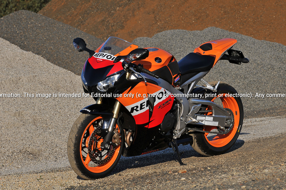 2009 Repsol Honda CBR1000 RR .Upper Plenty, Victoria, Australia.24th of October 2009.(C) Joel Strickland Photographics.Use information: This image is intended for Editorial use only (e.g. news or commentary, print or electronic). Any commercial or promotional use requires additional clearance.