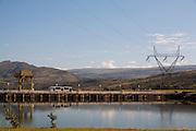 Sao Jose da Barra_MG, Brasil...Hidreletrica de Furnas...Furnas hydroelectric plant...Foto: LEO DRUMOND / NITRO