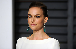 Natalie Portman in attendance for 2015 Vanity Fair Oscar Party Hosted By Graydon Carter at Wallis Annenberg Center for the Performing Arts on February 22, 2015 in Beverly Hills, California. EXPA Pictures © 2015, PhotoCredit: EXPA/ Photoshot/ Dennis Van Tine<br /> <br /> *****ATTENTION - for AUT, SLO, CRO, SRB, BIH, MAZ only*****