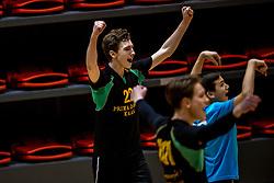 18-03-2017 NED:  Finale NOJK B finalisten, Doetinchem<br /> De B-teams waren de finaledag actief in Doetinchem, waar zij in het Topsportcentrum sportief zullen uitvechten wie zich het komende jaar Nederlands kampioen mag gaan noemen / PDK Huizen