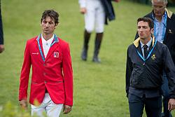 Guerdat Steve, SUI, De Luca Lorenzo, ITA<br /> CHIO Aachen 2017<br /> © Hippo Foto - Dirk Caremans<br /> 20/07/2017