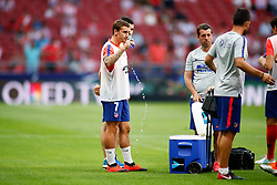 August 25, 2018 - Griezmann of Atletico de Madrid during the spanish league, La Liga, football match between Atletico de Madrid and Rayo Vallecano on August 25, 2018 at Wanda Metropolitano stadium in Madrid, Spain. (Credit Image: © AFP7 via ZUMA Wire)