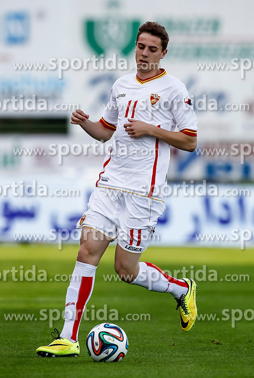 26.05.2014, Hartberg Stadion, Hartberg, AUT, FIFA WM, Testspiel, Iran vs Montenegro, im Bild Luka Djordjevic (MNE) // Luka Djordjevic (MNE) during friendly match between Iran and Montenegro for Preparation of the FIFA Worldcup Brasil 2014 at the Hartberg Stadium, Hartberg, Austria on 2014/05/26, EXPA Pictures © 2014, PhotoCredit: EXPA/ Erwin Scheriau