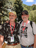 Jim Bedford and Bill Pence at the Telluride Film Festival 2013.