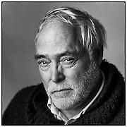 Richard Avedon maakte de foto die als voorbeeld diende voor dit portret.