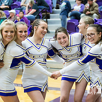 02-17-17 BHS Cheerleaders - District Tournament