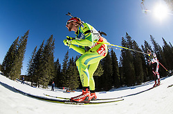 BAUER Klemen of Slovenia competes during Men 12.5 km Mass Start competition of the e.on IBU Biathlon World Cup on Sunday, March 9, 2014 in Pokljuka, Slovenia. Photo by Vid Ponikvar / Sportida