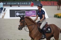 Leprevost Penelope, (FRA), Sultane Des Ibis<br /> Furusiyya FEI Nations Cup Jumping Final - Barcelona 2015<br /> © Dirk Caremans<br /> 23/09/15