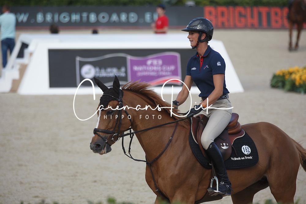 Leprevost Penelope, (FRA), Sultane Des Ibis<br /> Furusiyya FEI Nations Cup Jumping Final - Barcelona 2015<br /> &copy; Dirk Caremans<br /> 23/09/15