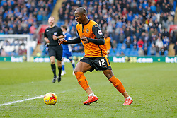 Benik Afobe of Wolverhampton Wanderers in action - Photo mandatory by-line: Rogan Thomson/JMP - 07966 386802 - 28/02/2015 - SPORT - FOOTBALL - Cardiff, Wales - Cardiff City Stadium - Cardiff City v Wolverhampton Wanderers - Sky Bet Championship.