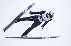 09.03.2019, Holmenkollen, Oslo, NOR, FIS Weltcup Skisprung, Raw Air, Oslo, Team Bewerb, Herren, im Bild Mikhail Nazarov (RUS) // Mikhail Nazarov of Russian Federation during the men's Team Competition of the Raw Air Series of FIS Ski Jumping World Cup at the Holmenkollen in Oslo, Norway on 2019/03/09. EXPA Pictures © 2019, PhotoCredit: EXPA/ JFK