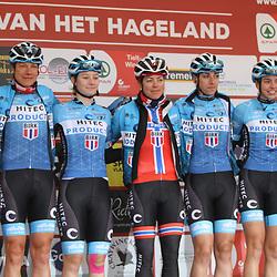 01-03-2020: Wielrennen: Hageland vrouwen: Tielt-Winge: Hitec Products