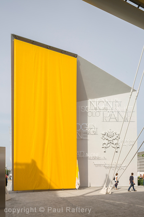 Holy See pavilion Expo 20015 Milan.