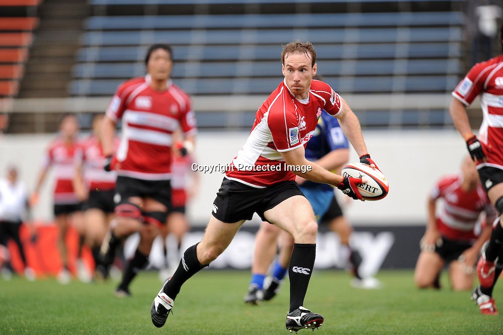Shaun Webb (JPN), APRIL 25, 2009 - Rugby : HSBC Asian 5 Nations 2009 between Japan 87-10 Kazakhstan at Kintstsu Hanazono Rugby Grouns, Tokyo, Japan. (Photo by Atsushi Tomura/AFLO SPORT) [1035]