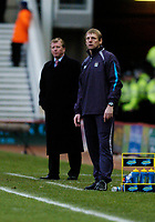 Photo: Leigh Quinnell.<br /> Middlesbrough v Manchester City. The Barclays Premiership. 31/12/2005. Man Citys boss Stuart Pearce on the touch line with Middlesbrough boss Steve McClaren.