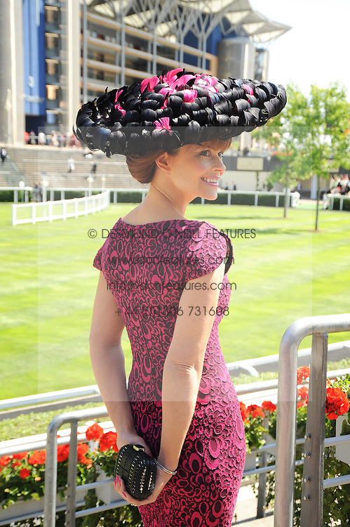 PAULA McNEILL at the third day of the Royal Ascot 2010 (Ladies Day) Racing Festival at Ascot Racecourse, Bershire on 17th June 2010.