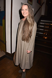 Koo Stark at The Calling: Heal Ourselves Heal Our Planet held at San Lorenzo, 22 Beauchamp Place, London England. 28 March 2017.