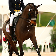 Steffen Peters and Ravel at the Exquis World Dressage Masters in Wellington, Florida.
