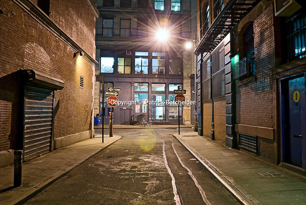 Empty Urban City Street   Photography of New York City by ...