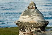 San Fernando de Bocachica watchtower (Spanish fort-1753), Tierrabomba island,  Cartagena de Indias, Bolivar Department,, Colombia, South America..