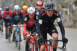 March 10, 2018 - Valdeblore La Colmiane, FRANCE - Italian Alessandro De Marchi of BMC Racing Team pictured in action during the seventh stage of the 76th edition of Paris-Nice cycling race, 175km from Nice to Valdeblore La Colmiane, France, Saturday 10 March 2018. The race starts on the 4th and ends on the 11th of March. BELGA PHOTO DAVID STOCKMAN (Credit Image: © David Stockman/Belga via ZUMA Press)