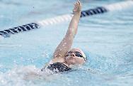 September 22, 2017: The Oklahoma Christian University swim team competes in the Shawnee Invitational in Shawnee, Oklahoma.