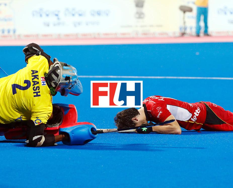 Odisha Men's Hockey World League Final Bhubaneswar 2017<br /> Match id:13<br /> Belgium v India<br /> Foto: Shoot Out<br /> India wins the Shoot Out<br /> Belgium lost the match<br /> COPYRIGHT WORLDSPORTPICS KOEN SUYK