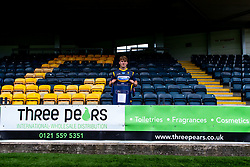 Ted Hill of Worcester Warriors Three Pears - Mandatory by-line: Robbie Stephenson/JMP - 24/08/2020 - RUGBY - Sixways Stadium - Worcester, England - Worcester Warriors Sponsors 2020/21