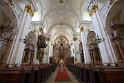 Linz, Cultural Capital of Europe 2009. Alter Dom (Old Dome Chrurch).