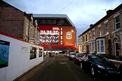 A general view of Anfield - Mandatory by-line: Matt McNulty/JMP - 31/12/2016 - FOOTBALL - Anfield - Liverpool, England - Liverpool v Manchester City - Premier League