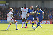 AFC Wimbledon defender Paul Robinson (6) during the EFL Sky Bet League 1 match between AFC Wimbledon and Gillingham at the Cherry Red Records Stadium, Kingston, England on 1 October 2016. Photo by Stuart Butcher.