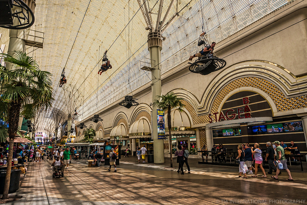 SlotZilla Zip Lining, Fremont Street Experience