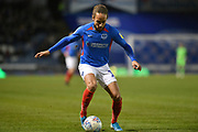 Portsmouth's Marcus Harness during the EFL Sky Bet League 1 match between Portsmouth and Peterborough United at Fratton Park, Portsmouth, England on 7 December 2019.