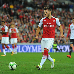 Sead Kolasinac of Arsenal on the ball during Western Sydney Wanderers vs Arsenal, Preseason Friendly , 15.07.17 (c) Harriet Lander | SportPix.org.uk