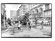 Workmen in New York. New York. 1993 approx. © Copyright Photograph by Dafydd Jones 66 Stockwell Park Rd. London SW9 0DA Tel 020 7733 0108 www.dafjones.com