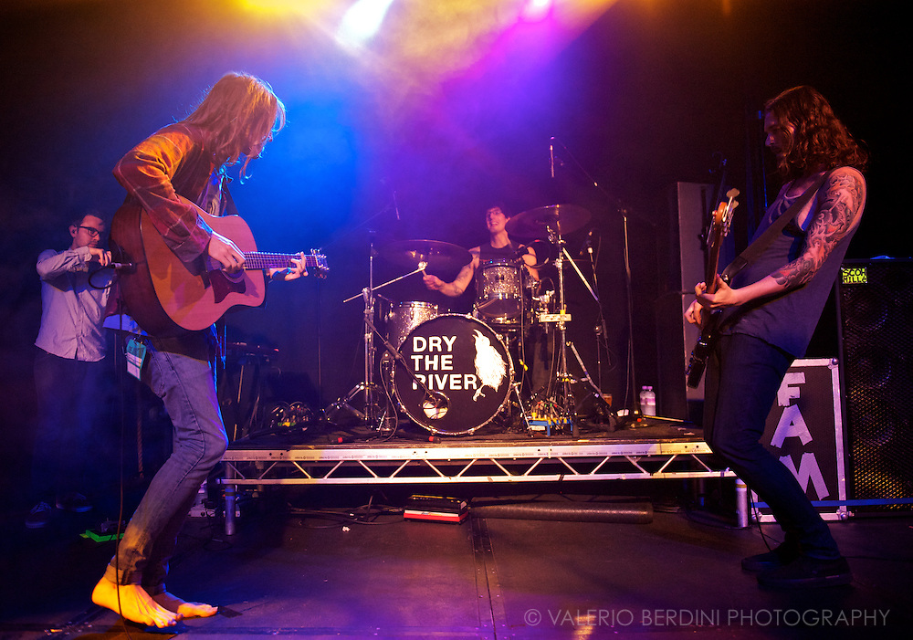 Dry The River opening the UK October 2012 tour at the Cambridge Junction.