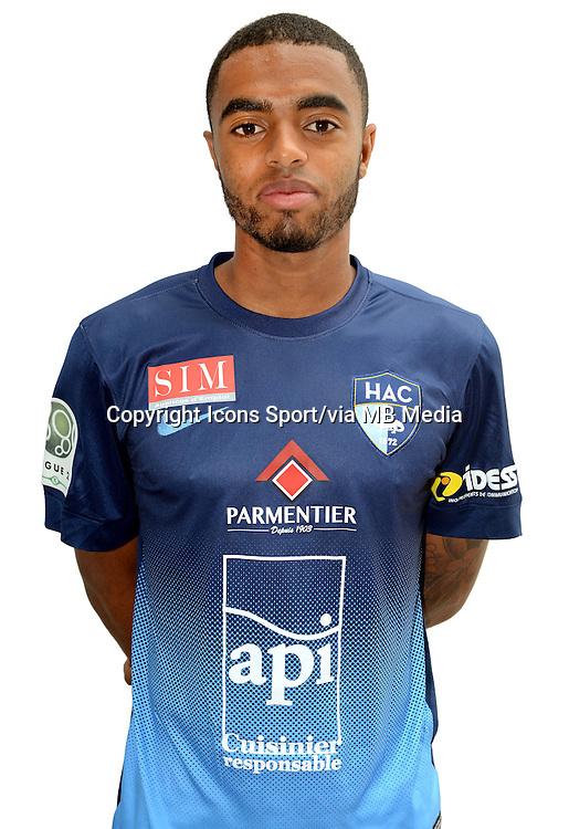Tristan DINGOME - 04.10.2013 - Photo Officielle - Le Havre -<br /> Photo : Icon Sport