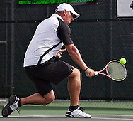Tennis play at the Arizona Open at the Village Tennis Club in Phoenix, AZ on September 12, 2010...quarter finals in the consolation round