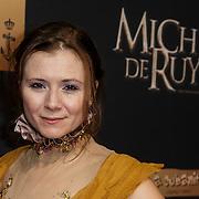NLD/Amsterdam/20150126 - Premiere Michiel de Ruyter, Celine Purcell