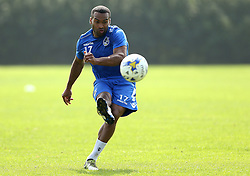Jermaine Easter of Bristol Rovers takes part in training - Mandatory by-line: Robbie Stephenson/JMP - 15/09/2016 - FOOTBALL - The Lawns Training Ground - Bristol, England - Bristol Rovers Training