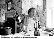 Robert Parker wine expert. Baltimore. U.S.A.1996.<br />