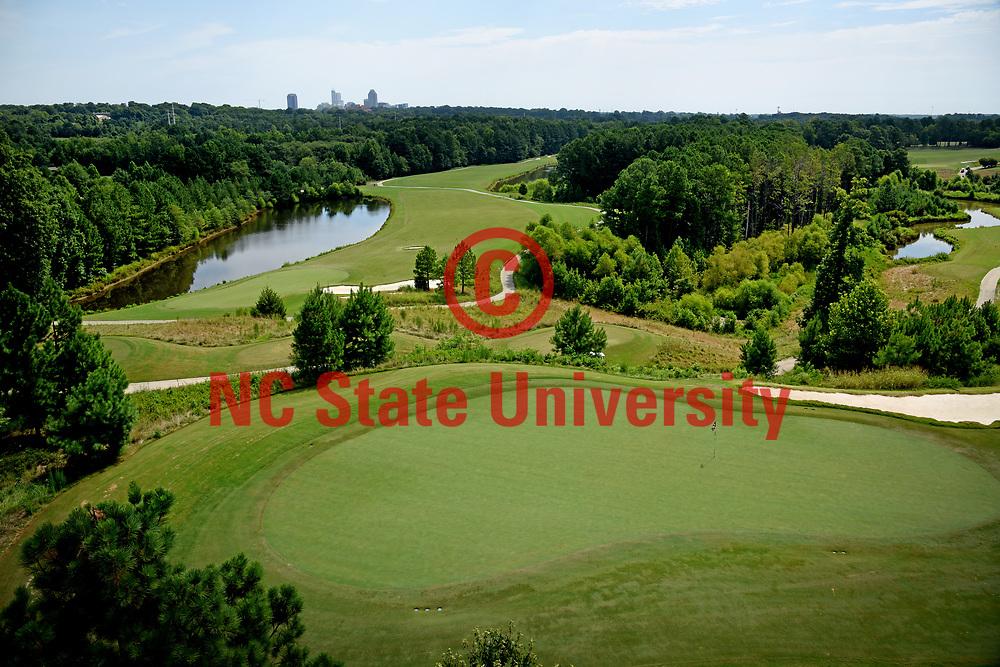 Lonnie Poole Golf Course on Centennial Campus.