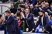 Gianmario Dettorim Edoardo Casalone<br /> Banco di Sardegna Dinamo Sassari - Dolomiti Energia Trentino Trento<br /> LBA Legabasket Serie A 2019-2020<br /> Sassari, 25/01/2020<br /> Foto L.Canu / Ciamillo-Castoria