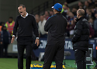 Football - 2017 / 2018 Premier League - West Ham United Vs Huddersfield Town<br /> <br /> Slaven Bilic, Manager of West Ham United, at the London Stadium<br /> <br /> COLORSPORT/DANIEL BEARHAM