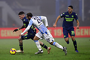 Foto LaPresse/Filippo Rubin<br /> 26/12/2018 Ferrara (Italia)<br /> Sport Calcio<br /> Spal - Udinese - Campionato di calcio Serie A 2018/2019 - Stadio &quot;Paolo Mazza&quot;<br /> Nella foto: RODRIGO DE PAUL (UDINESE)<br /> <br /> Photo LaPresse/Filippo Rubin<br /> December 26, 2018 Ferrara (Italy)<br /> Sport Soccer<br /> Spal vs Udinese - Italian Football Championship League A 2018/2019 - &quot;Paolo Mazza&quot; Stadium <br /> In the pic: RODRIGO DE PAUL (UDINESE)